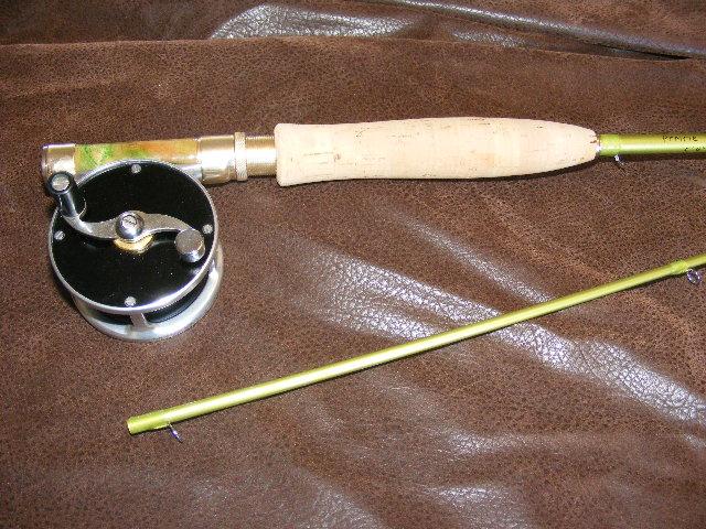 Custom Color Deluxe Eglass rod
